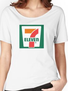 7-11 Logo, Simple. Women's Relaxed Fit T-Shirt
