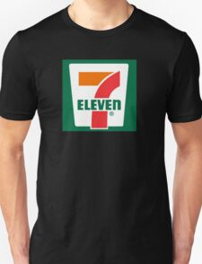 7-11 Logo, Simple. Unisex T-Shirt