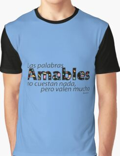 Cool Kids are Kind  - Spanish (Learning Language) Graphic T-Shirt