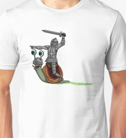 The Knight and the Snail  Unisex T-Shirt