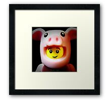 A cute little Piggie Framed Print