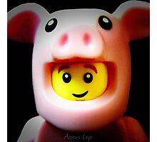 A cute little Piggie Photographic Print