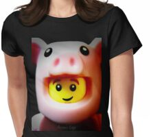 A cute little Piggie Womens Fitted T-Shirt