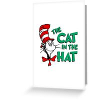 The Cat In The Hat Dr Seuss Greeting Card