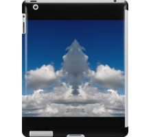 Mirror image clouds panorama iPad Case/Skin