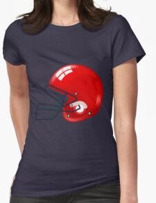 American football gridiron helmets Womens Fitted T-Shirt