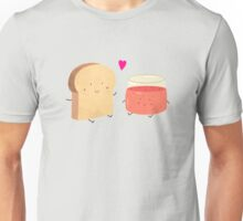 Bread loves jam Unisex T-Shirt