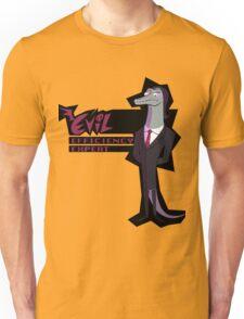 Evil Efficiency Expert Unisex T-Shirt