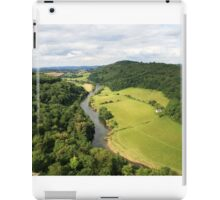 Picturesque view from Symonds Yat Rock iPad Case/Skin