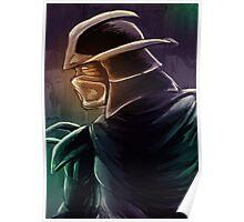 Shredder Foot Clan Grandmaster Poster
