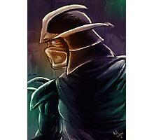 Shredder Foot Clan Grandmaster Photographic Print
