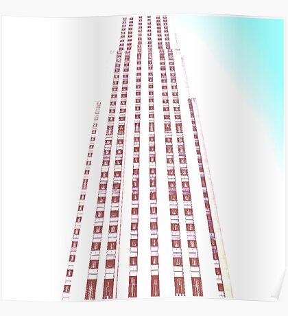 City Tower Poster