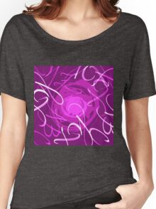 Calligraphy Spinning around Women's Relaxed Fit T-Shirt