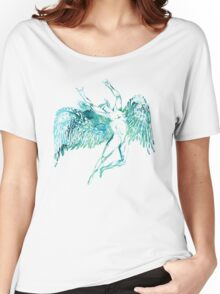 ICARUS THROWS THE HORNS - WATERCOLOR Women's Relaxed Fit T-Shirt