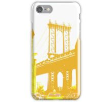 Yellow Brooklyn Bridge iPhone Case/Skin