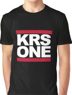 KRS ONE  - DMC Graphic T-Shirt