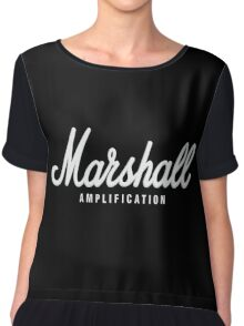 Marshall Amplification Chiffon Top