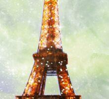 Eiffel Tower, Starry Night Sticker