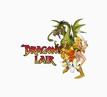 Dragons Lair - White Variant Womens Fitted T-Shirt