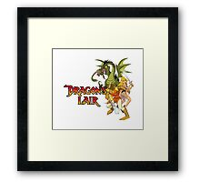 Dragons Lair - White Variant Framed Print