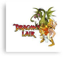 Dragons Lair - White Variant Canvas Print