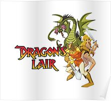 Dragons Lair - White Variant Poster