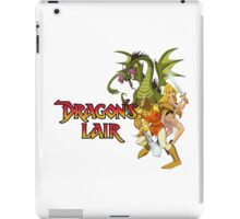 Dragons Lair - White Variant iPad Case/Skin