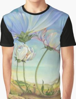 In the Half-shadow of Wild Flowers Graphic T-Shirt