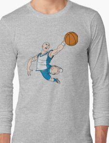 Basketball player pose Long Sleeve T-Shirt
