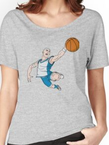 Basketball player pose Women's Relaxed Fit T-Shirt