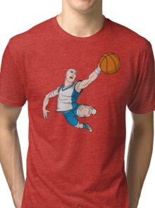 Basketball player pose Tri-blend T-Shirt