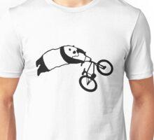 BMX Stunt Panda Unisex T-Shirt