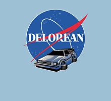 <MOVIES> Delorean Nasa LOGO T-Shirt