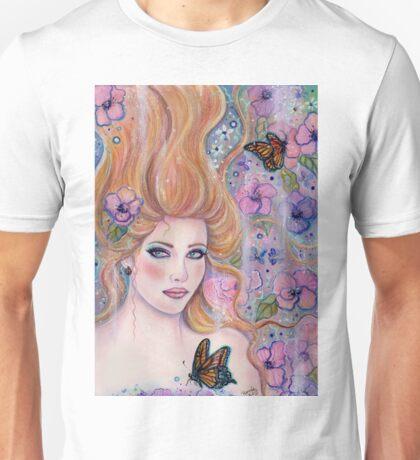 Wonderland fantasy portrait by Renee Lavoie Unisex T-Shirt