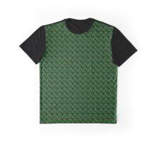 Green Tiger Pattern Graphic T-Shirt