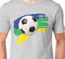 Brazil soccer world cup background Unisex T-Shirt