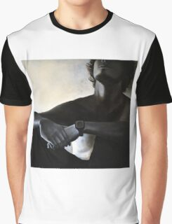 Sitting, 2011, 100-100cm, oil on canvas Graphic T-Shirt