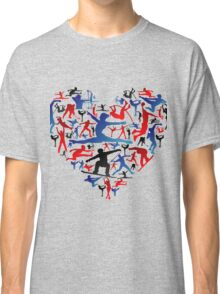 Athletic player made heart in Olympic Classic T-Shirt