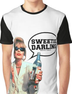 "Absolutely Fabulous - ""Sweetie, Darling"" Patsy. Graphic T-Shirt"