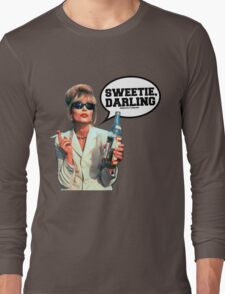 "Absolutely Fabulous - ""Sweetie, Darling"" Patsy. Long Sleeve T-Shirt"
