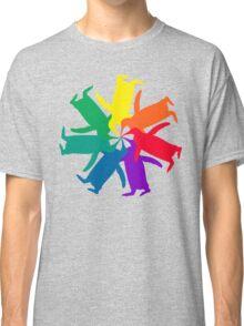 Penguin Color Wheel Classic T-Shirt