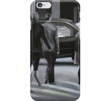 Rush time, 2012, 120-80cm, oil on canvas iPhone Case/Skin