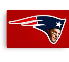 Tom Brady - Patriot Canvas Print