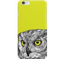 Ornate Owl iPhone Case/Skin