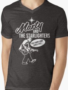 Marty and the Starlighters Mens V-Neck T-Shirt