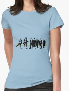 Reservoir mashup Womens Fitted T-Shirt