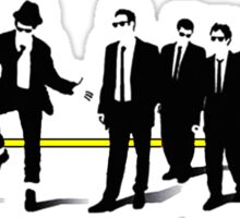 Reservoir mashup Sticker