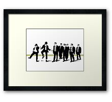 Reservoir mashup Framed Print