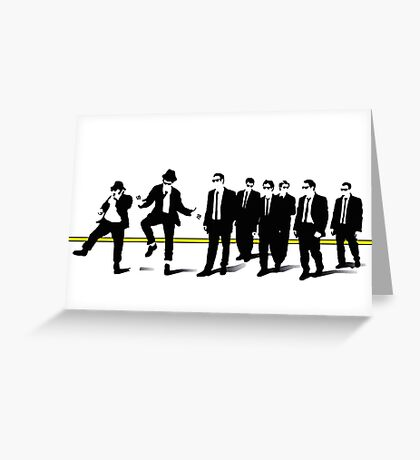Reservoir mashup Greeting Card