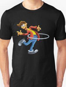 Cartoon boy playing with ring T-Shirt